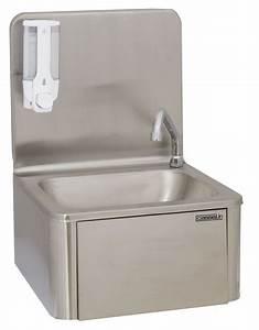 Lave Main Inox : casselin lave mains inox commande f morale genoux l ~ Melissatoandfro.com Idées de Décoration
