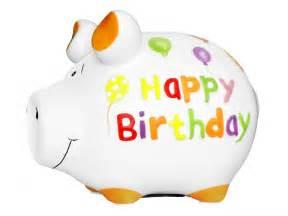 design sparschwein sparschwein happy birthday kleinschwein kcg