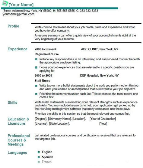 lpn description for resume resume ideas