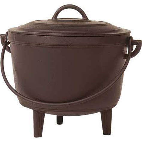 chaudron pour cuisiner chaudron fonte 17 litres tom press