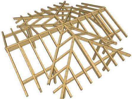tetto a padiglione dwg il manto di copertura