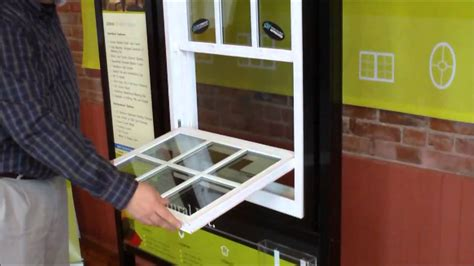 cleaning smarter window systems double  single hung windows youtube
