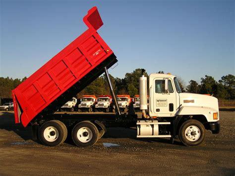 dump truck pioneer equipment company trucks