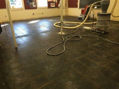 carpet tile mastic removal pennsylvania concrete