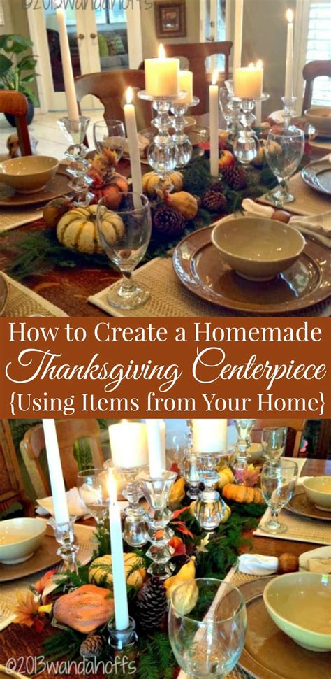 How To Create A Homemade Thanksgiving Centerpiece