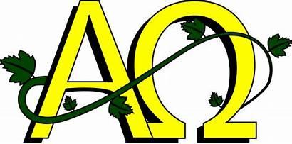 Omega Alpha Symbol Clipart Artwork Text Yellow