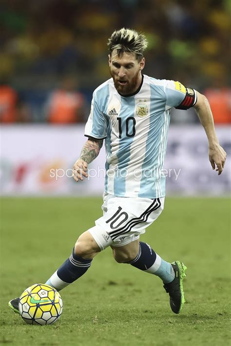 Lionel Messi Argentina v Brazil 2018 World Cup Qualifier ...