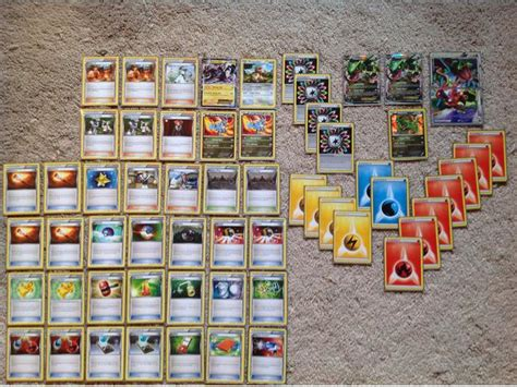 Rayquaza Ex Deck Standard by Rayquaza Ex Custom 60 Card Deck Trading Cards