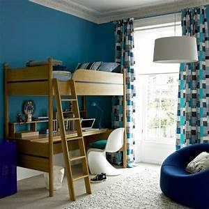 Kinderzimmer In Blau : coole gardinen im kinderzimmer bieten sonnenschutz und charme ~ Sanjose-hotels-ca.com Haus und Dekorationen