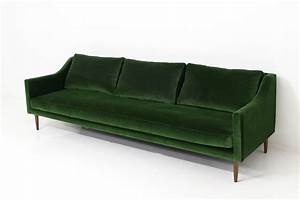 emerald green sofa go for the green sofa coco kelley thesofa With emerald green sectional sofa