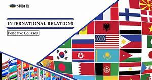 International Relations For UPSC Online Coaching PDF Notes