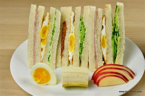 Taiwanese Breakfast Sandwiches (台式早餐三明治)  It's My Dish