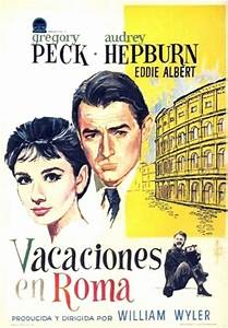 """Roman Holiday"" Poster - Audrey Hepburn Photo (10957353 ..."