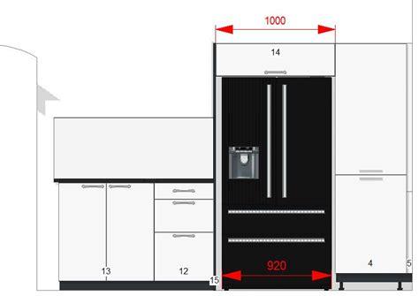 meuble cuisine frigo meuble sur frigo américain 51 messages