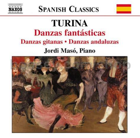 dances andalusian naxos gypsy fantastic piano vol audio cd turina