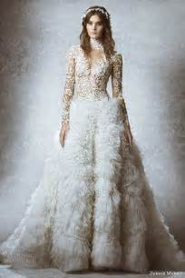 bridal designer zuhair murad bridal fall 2015 wedding dresses wedding inspirasi