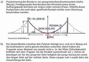 Scheitelpunkt Berechnen Parabel : gerade parabel wahlteilaufgaben 2014 2015 realschulabschluss ~ Themetempest.com Abrechnung