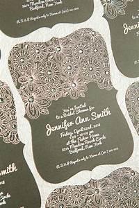 Easily embellished wedding invitations with basic invite for Wedding invitation embellishments diy