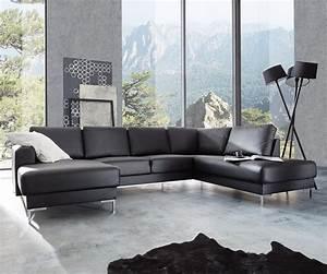 Sofa Ottomane : delife couch silas schwarz 300x200 cm ottomane otto ~ Pilothousefishingboats.com Haus und Dekorationen
