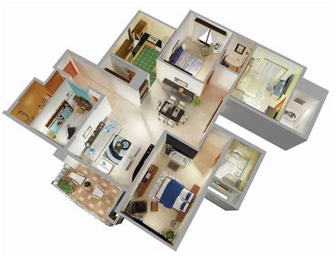 25 Three Bedroom Houseapartment Floor Plans by 25 Three Bedroom House Apartment Floor Plans Planos Casa