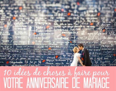 10 ans de mariage cadeau pour lui 10 id 233 es pour un anniversaire de mariage with a