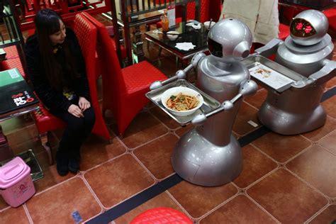 chinois pour cuisine les robots cartonnent dans les restaurants chinois