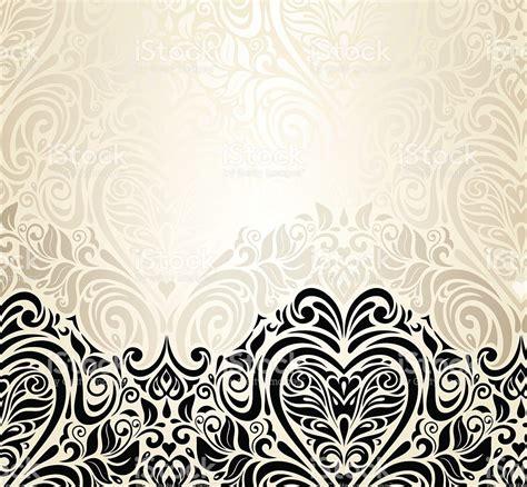ilustração de vintage floral fundo de convite de casamento de design e mais banco de imagens de