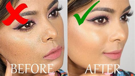 prevent cakey foundation  tips  apply foundation   flaw   apply