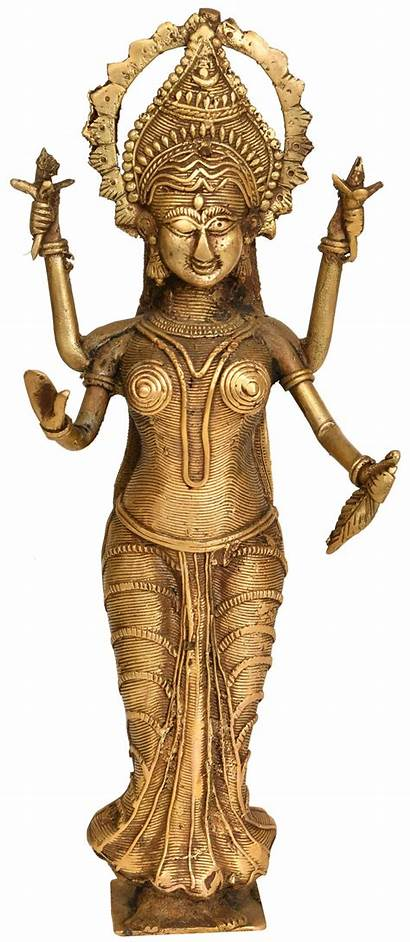 Goddess Lakshmi Statue Tribal Bastar Sculptures