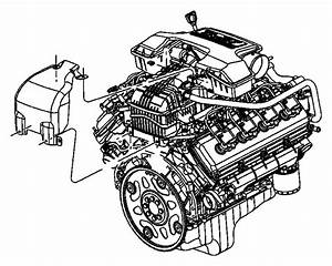 Chrysler Aspen Engine Oil Dipstick  5 7 Liter