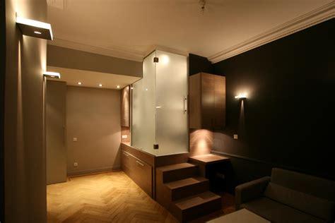 deco mur de cuisine agencement intérieur et décoration studio à lyon 6