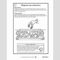 1st Grade, 2nd Grade, Kindergarten Science Worksheets Magnets Attract! Greatschools