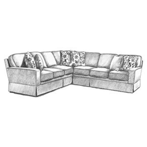 Rowe Nantucket Sofa With Chaise by Rowe Nantucket Slipcover Sofa With Chaise Hudson S