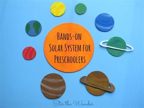 solar system for preschoolers lesson plans on solar system for preschoolers stir the 400