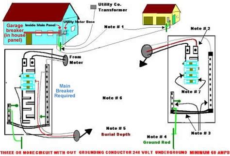 wiring a detached garage nec 2002 self help and more shed ideas electrical