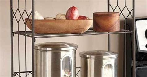 bronze  tier shelf kitchen counter space saver cabinet