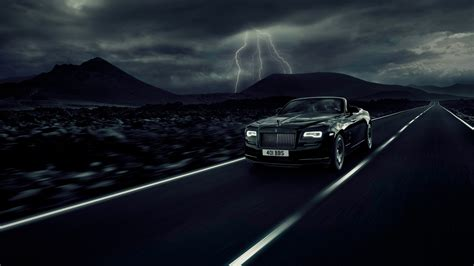 rolls royce dawn black badge wallpaper hd car