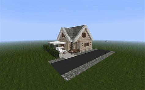 vanilla suburban house minecraft map