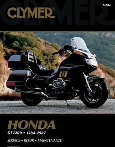 Clymer Repair Manual Honda Gold Wing Gl1200 1984