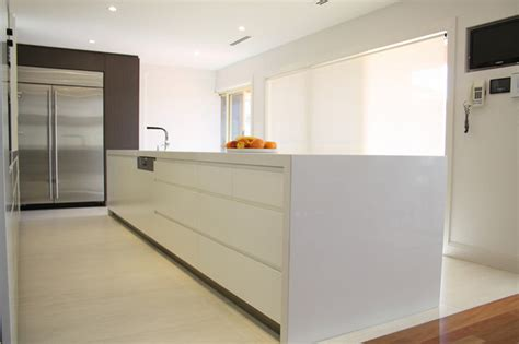 indoor floor tiles contemporary kitchen sydney by