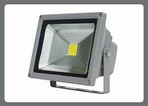 Led flood light w heat sinksd a