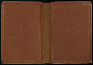 information about blank brown book cover