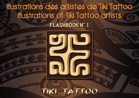 Livre De Tatouages Polynésien Tiki Tattoo