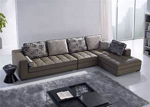 Kuka modern leather corner sofa buy kuka leather sofa for Kuka sectional leather sofa
