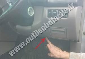 Obd2 Connector Location In Subaru Forester  1997 - 2002