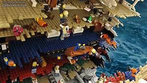 120,000-Piece Lego Model of the Titanic Breaking in Half ...