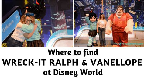 find wreck ralph vanellope disney world wdw prep school