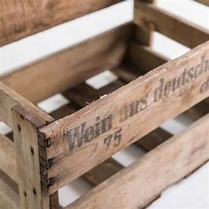 Weinkisten Holz Gratis : alte weinkiste ideen rund ums haus pinterest alte weinkisten weinkisten und kiste ~ Orissabook.com Haus und Dekorationen