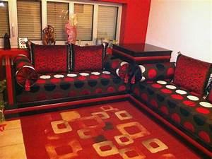 Salon Rouge Et Noir. salon rouge et noir 8 photos sarounette ...