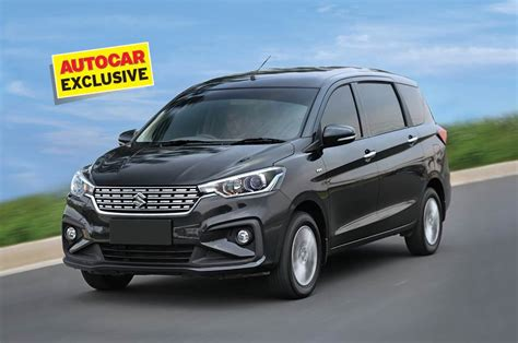 Review Suzuki Ertiga 2018 suzuki ertiga review test drive autocar india